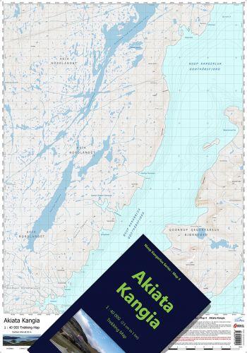 Map-4 Akiata Kangia FOLDED AND CASED